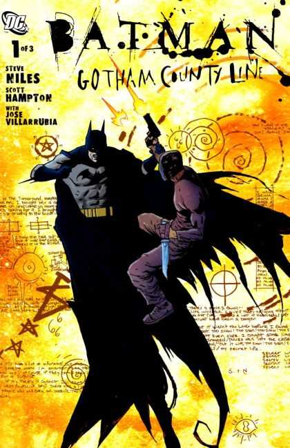 Batman Gotham County Line Comic Book Back Issues by A1 Comix