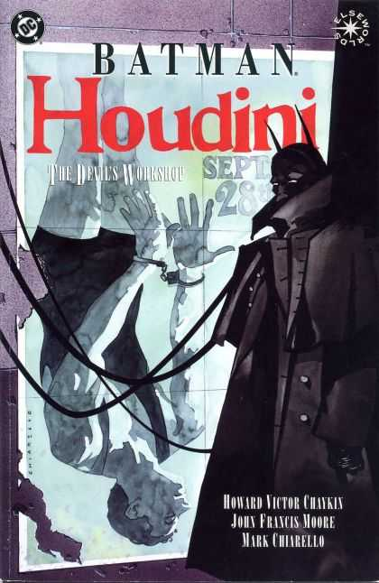 Batman Houdini: The Devil's Workshop Comic Book Back Issues of Superheroes by A1Comix