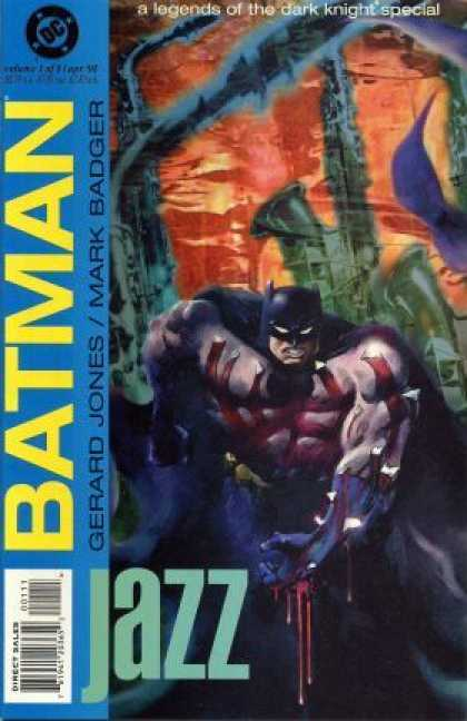 Batman: Legends of the Dark Knight: Jazz Comic Book Back Issues of Superheroes by A1Comix
