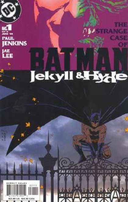 Batman: Jekyll & Hyde Comic Book Back Issues of Superheroes by A1Comix
