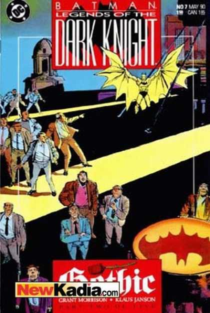 Batman: Legends of the Dark Knight A1 Comix Comic Book Database