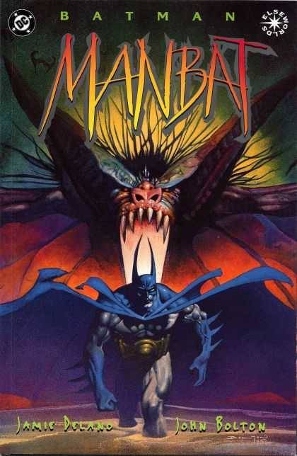 Batman: Manbat Comic Book Back Issues by A1 Comix