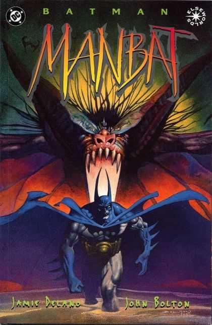 Batman: Manbat Comic Book Back Issues of Superheroes by A1Comix