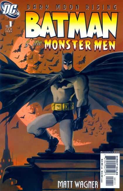Batman & the Monster Men Comic Book Back Issues of Superheroes by A1Comix