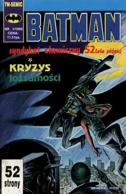 Batman (Poland) A1 Comix Comic Book Database