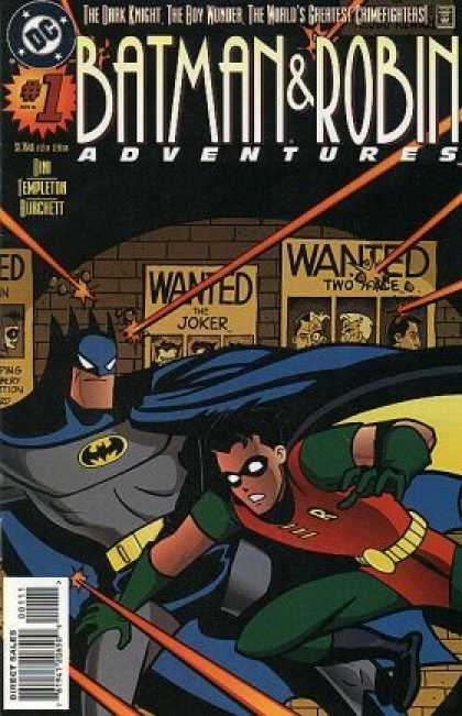 Batman & Robin Adventures Comic Book Back Issues of Superheroes by A1Comix