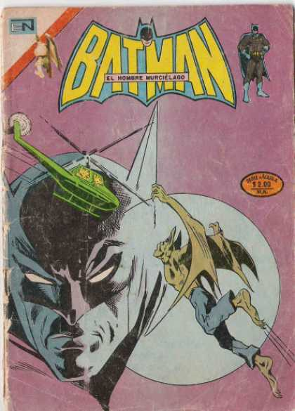 Batman Serie Aguila Comic Book Back Issues by A1 Comix