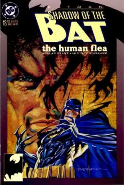 Batman: Shadow of the Bat comic book back issue comicbook back copy