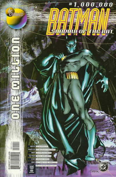 Batman: Shadow of the Bat A1 Comix Comic Book Database
