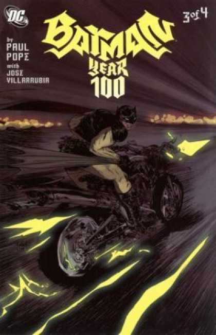 Batman: Year 100 A1 Comix Comic Book Database