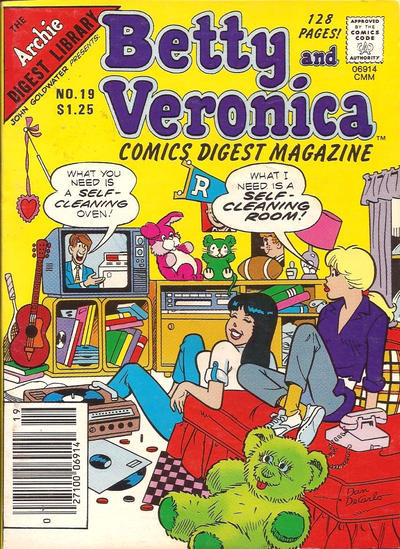 Betty and Veronica Digest A1 Comix Comic Book Database