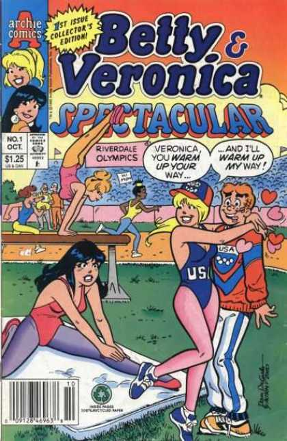 Betty and Veronica Spectacular Comic Book Back Issues by A1 Comix