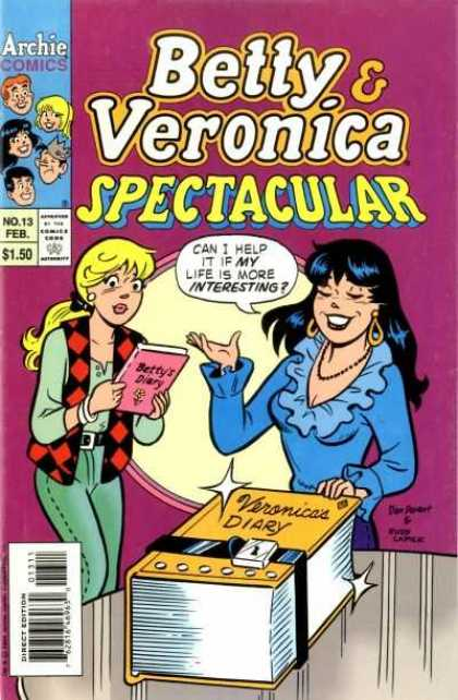 Betty and Veronica Spectacular A1 Comix Comic Book Database