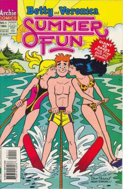 Betty and Veronica Summer Fun A1 Comix Comic Book Database