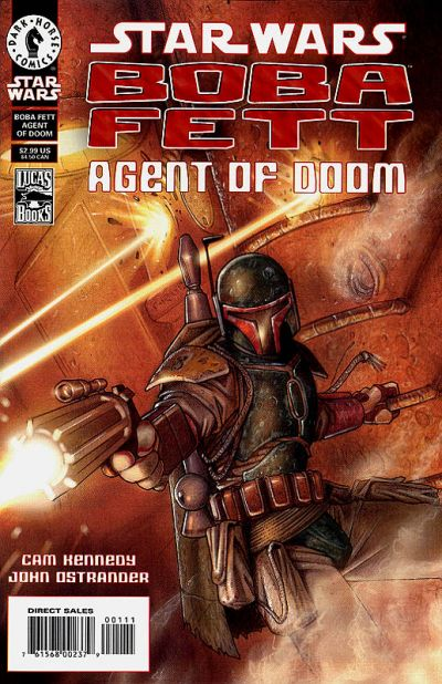Star Wars Boba Fett Agent of Doom Comic Book Back Issues by A1 Comix