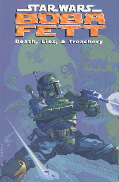 Star Wars Boba Fett Death: Lies & Treachery Comic Book Back Issues by A1 Comix