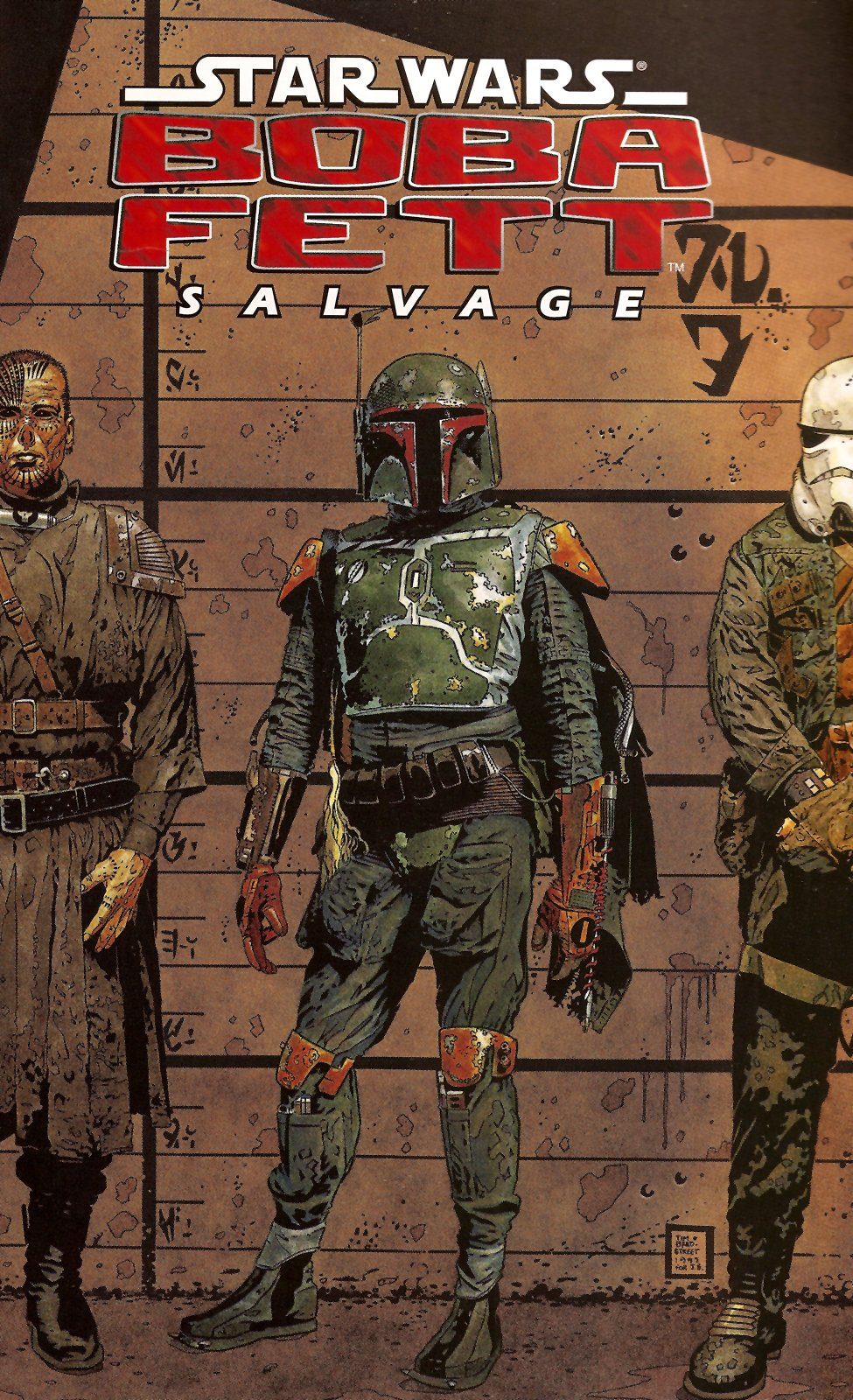 Star Wars Boba Fett Salvage Comic Book Back Issues by A1 Comix