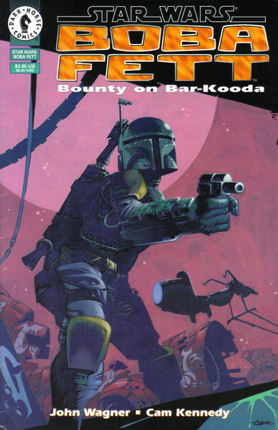 Star Wars Boba Fett Comic Book Back Issues by A1 Comix