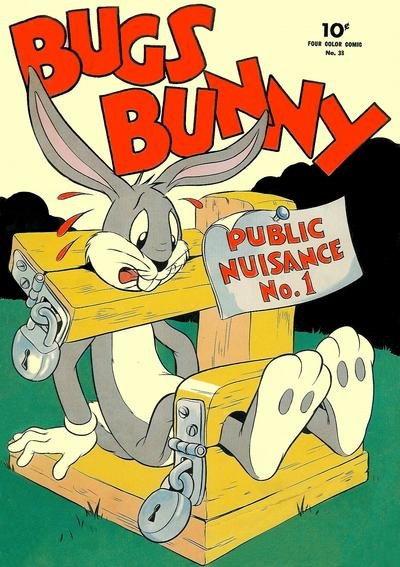 Bugs Bunny Comic Book Back Issues by A1 Comix