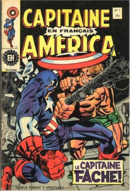 Capitaine America Comic Book Back Issues by A1 Comix