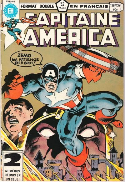 Capitaine America A1 Comix Comic Book Database