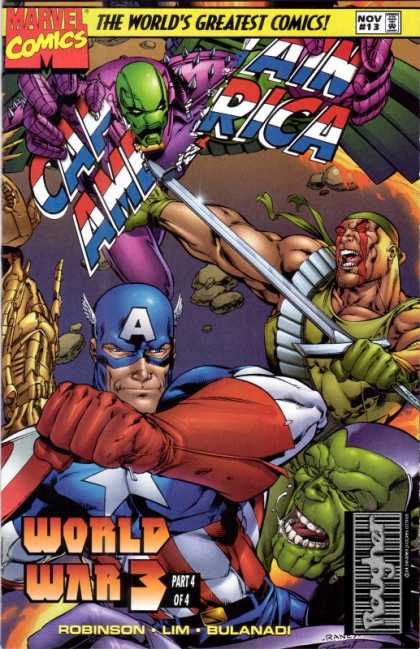 Captain America 1996 A1 Comix Comic Book Database