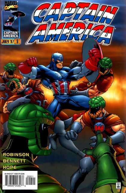 Captain America 1996 A1 Comix Comic Book Database