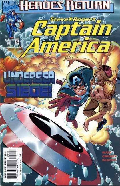 Captain America 1998 A1 Comix Comic Book Database