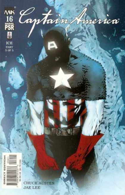 Captain America 2002 comic book back issue comicbook back copy