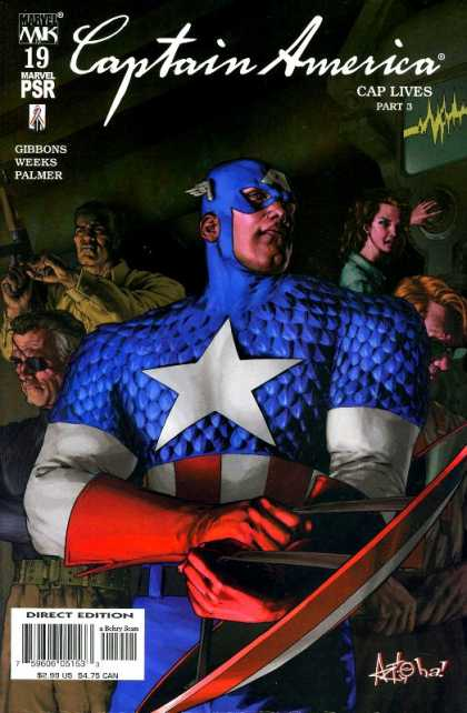 Captain America 2002 A1 Comix Comic Book Database