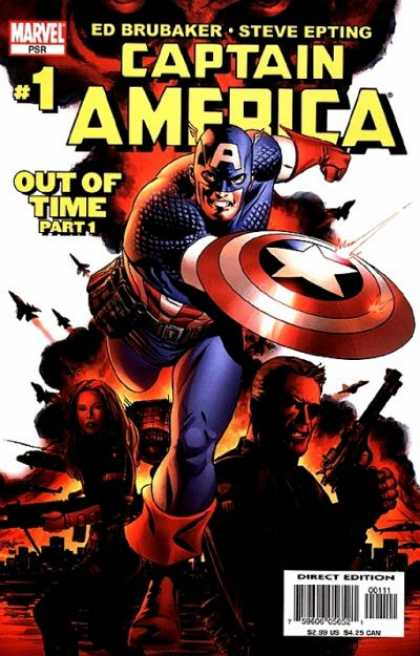 Captain America 2004 Comic Book Back Issues of Superheroes by A1Comix