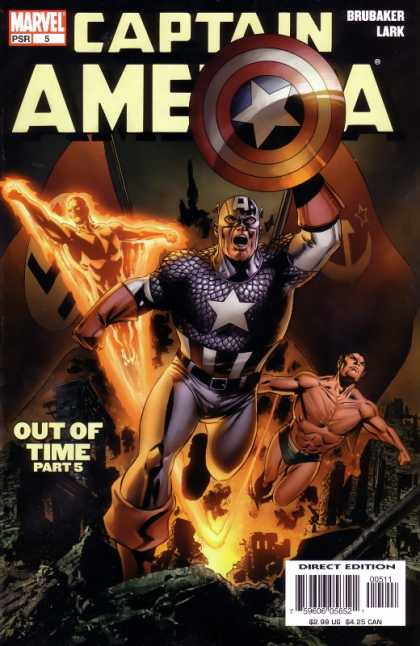 Captain America 2004 comic book back issue comicbook back copy