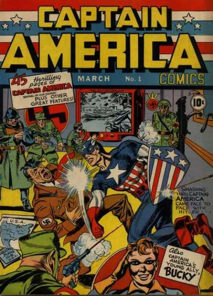 Captain America Comic Book Back Issues by A1 Comix