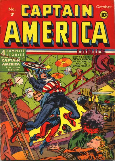 Captain America A1 Comix Comic Book Database