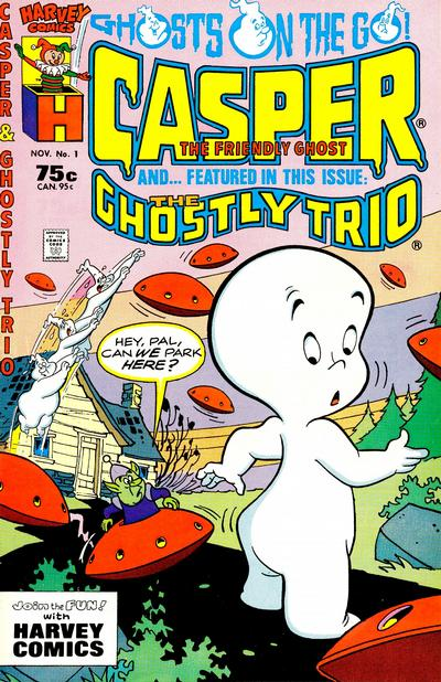 Casper and ... Comic Book Back Issues by A1 Comix