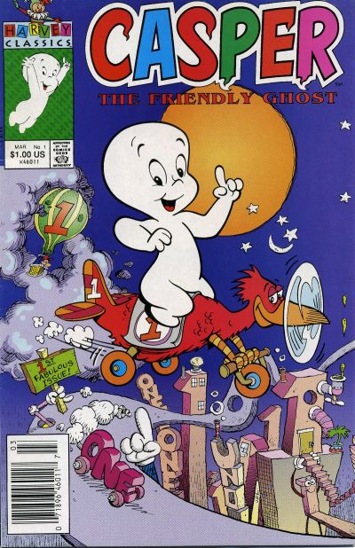 Casper the Friendly Ghost Comic Book Back Issues by A1 Comix