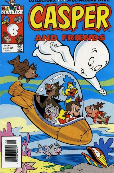 Casper and Friends Comic Book Back Issues by A1 Comix