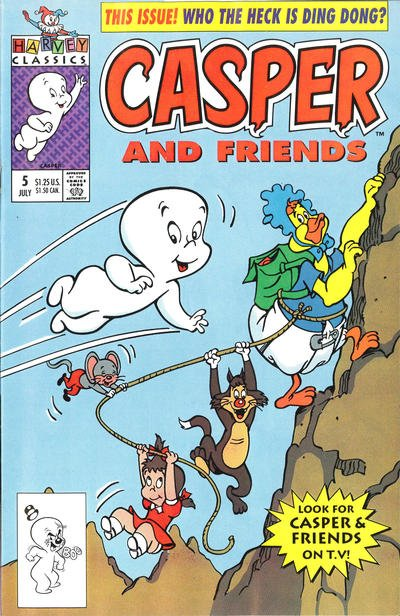 Casper and Friends A1 Comix Comic Book Database