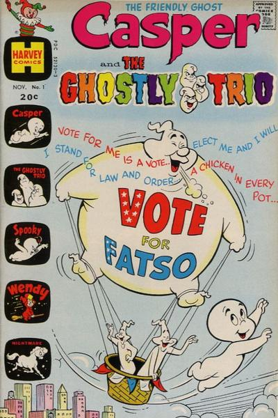 Casper and the Ghostly Trio Comic Book Back Issues by A1 Comix