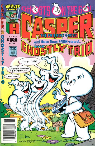 Casper and the Ghostly Trio A1 Comix Comic Book Database