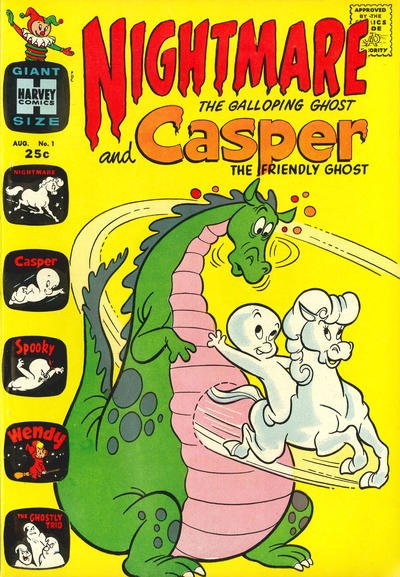 Casper and Nightmare Comic Book Back Issues by A1 Comix