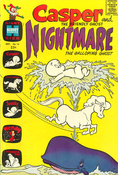Casper and Nightmare A1 Comix Comic Book Database