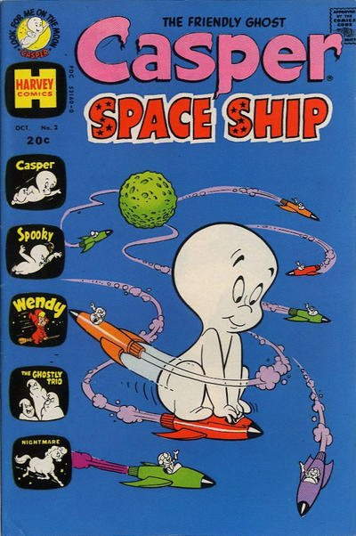 Casper Space Ship A1 Comix Comic Book Database