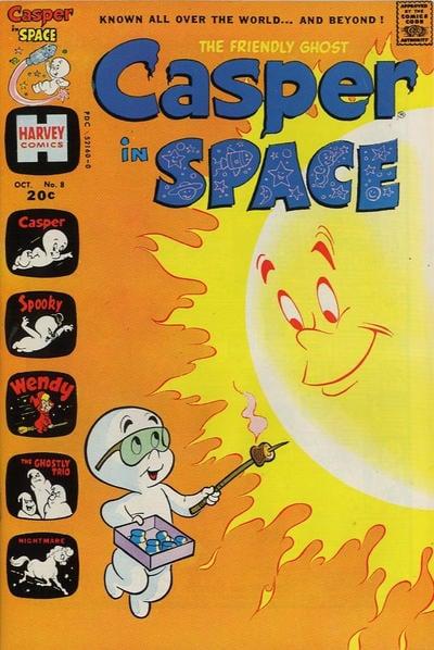 Casper Space Ship A1 Comix Comic Book Database