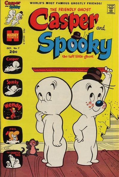Casper and Spooky A1 Comix Comic Book Database