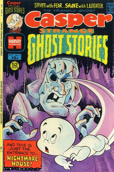 Casper Strange Ghost Stories Comic Book Back Issues by A1 Comix