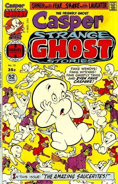 Casper Strange Ghost Stories comic book back issue comicbook back copy