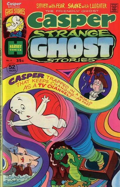 Casper Strange Ghost Stories A1 Comix Comic Book Database
