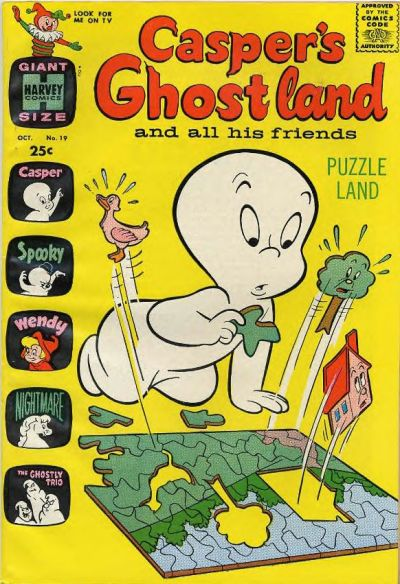 Casper's Ghostland A1 Comix Comic Book Database