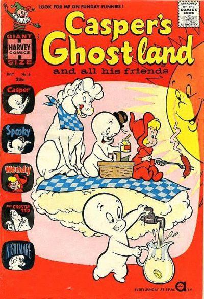 Casper's Ghostland A1 Comix Comic Book Database